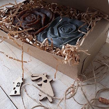 """Косметика ручной работы. Ярмарка Мастеров - ручная работа Мыло с нуля"""" Эко набор натурального мыла"""". Handmade."""