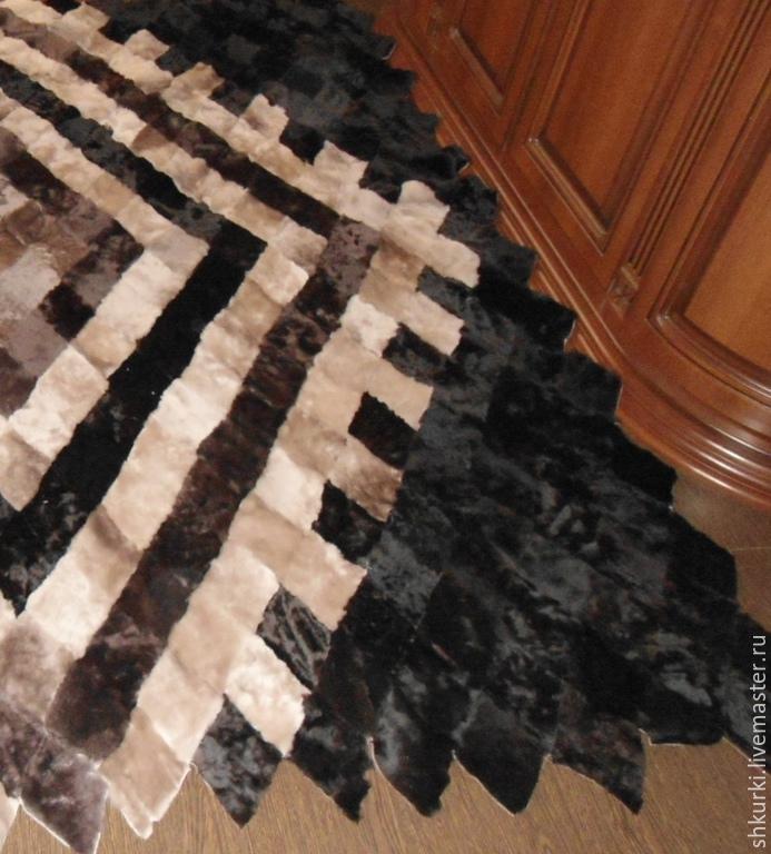 Как сшить одеяло из меха 66
