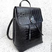 Сумки и аксессуары ручной работы. Ярмарка Мастеров - ручная работа LUNA сумка-рюкзак из натуральной кожи, городской рюкзак. Handmade.