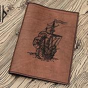Обложки ручной работы. Ярмарка Мастеров - ручная работа Обложка для книги А4. Handmade.