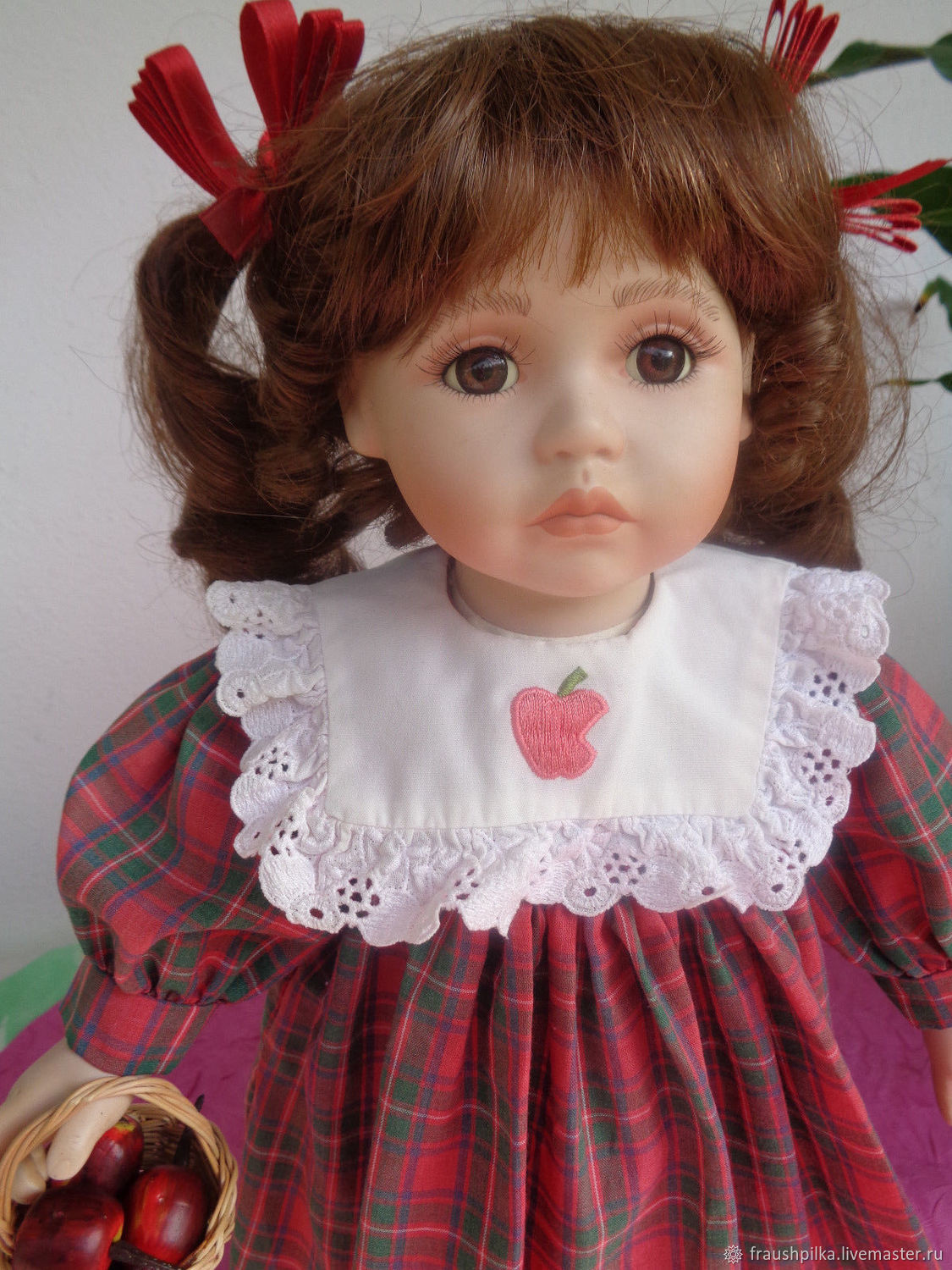Collectible porcelain doll from Anne Timmermann, Dolls, Kempten, Фото №1