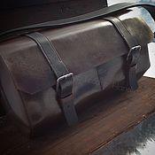 Сумки и аксессуары ручной работы. Ярмарка Мастеров - ручная работа Спортивная сумка из натуральной кожи 92. Handmade.