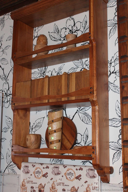 Мебель: Кухонная полочка. Открытая, Полки, Щелково,  Фото №1