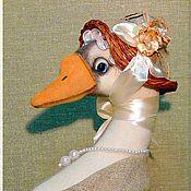 Куклы и игрушки ручной работы. Ярмарка Мастеров - ручная работа Уточка  Мадлен. Handmade.