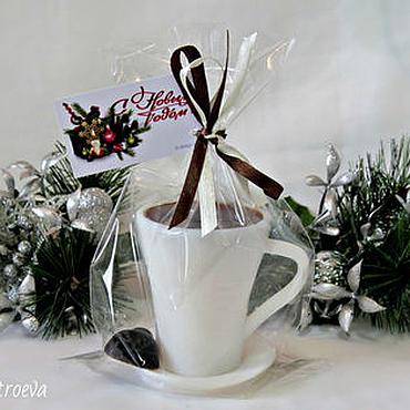 """Косметика ручной работы. Ярмарка Мастеров - ручная работа Мыло """"Чашечка кофе"""" - вкусное мыло) (мыло чашка). Handmade."""