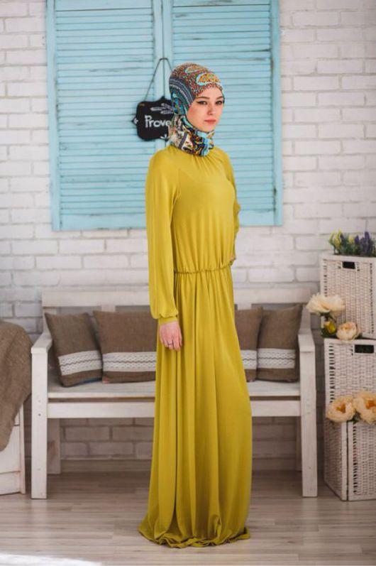Платья ручной работы. Ярмарка Мастеров - ручная работа. Купить Платье. Handmade. Мусульманские платья