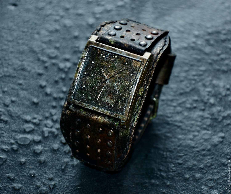 Наручные часы в стиле стимпанк купить