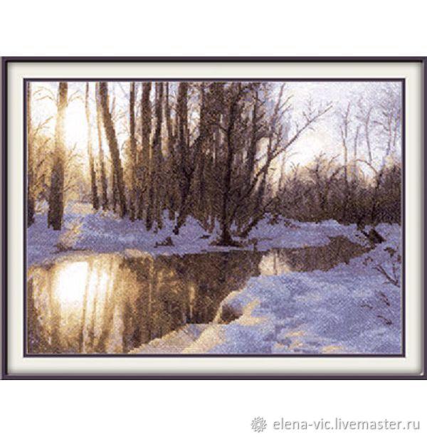 """Набор для вышивания Panna """"Яуза зимой"""", Схемы для вышивки, Смоленск,  Фото №1"""