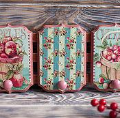 """Для дома и интерьера ручной работы. Ярмарка Мастеров - ручная работа Вешалка """"нежное утро"""". Handmade."""
