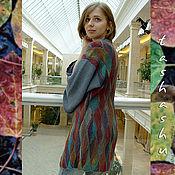 """Одежда ручной работы. Ярмарка Мастеров - ручная работа Кардиган """"Туманная осень"""".. Handmade."""