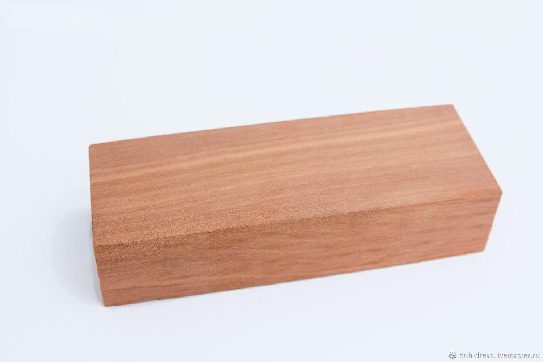Makore wood bars, Materials for carpentry, Vladimir,  Фото №1