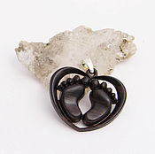 Украшения handmade. Livemaster - original item Baby heels pendant. Handmade.