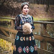 "Одежда handmade. Livemaster - original item Авторское платье ""Царевна Бохо""-Luxe-2. Handmade."