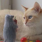 Куклы и игрушки ручной работы. Ярмарка Мастеров - ручная работа Мышка с перцем. Handmade.
