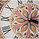 """Часы для дома ручной работы. Часы интерьерные """"Маргрит"""". Ия Лямкина (Coloriya). Ярмарка Мастеров. Часы ручной работы"""