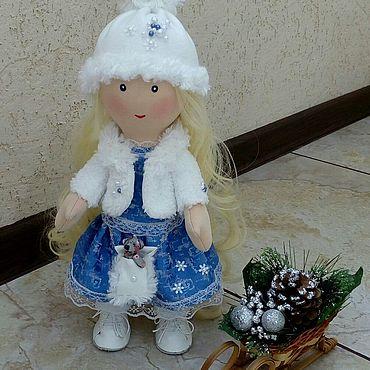 Куклы и игрушки ручной работы. Ярмарка Мастеров - ручная работа Тильды: Кукла Снегурочка. Handmade.