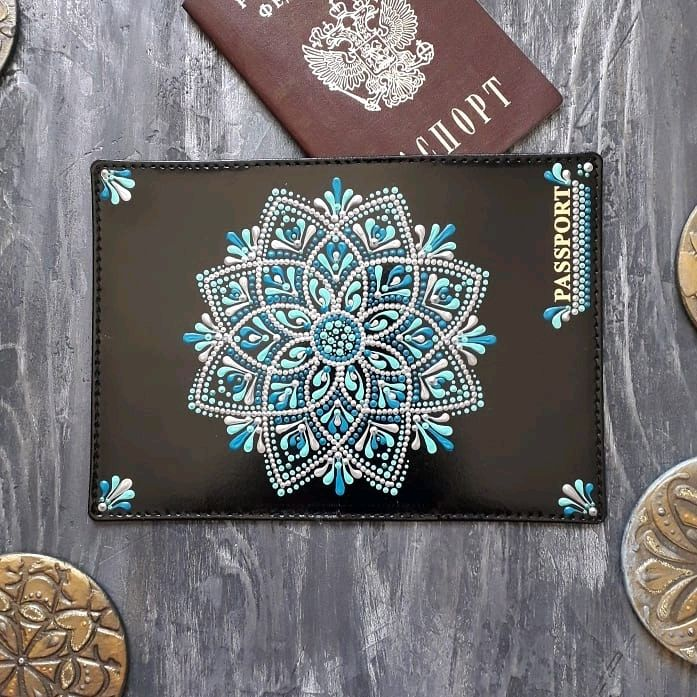 Обложка для паспорта, Обложка на паспорт, Югорск,  Фото №1