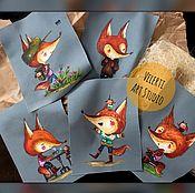 Материалы для творчества handmade. Livemaster - original item Textile coupons: