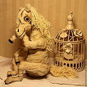 Куклы и игрушки ручной работы. Ярмарка Мастеров - ручная работа Дикая белая лошадь. Handmade.