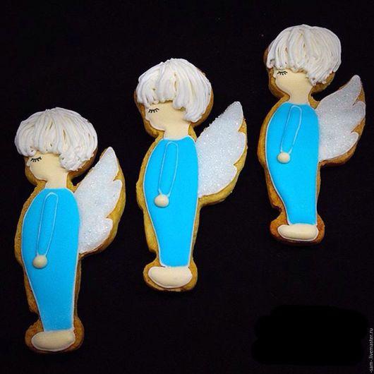 Кулинарные сувениры ручной работы. Ярмарка Мастеров - ручная работа. Купить Ангел на крестины. Handmade. Разноцветный, ребенок, на крестины, на заказ