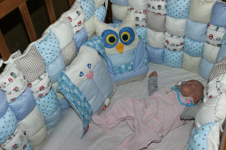 Бортики кроватку новорожденного своими руками фото 260