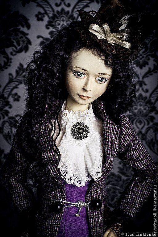 Коллекционные куклы ручной работы. Ярмарка Мастеров - ручная работа. Купить шарнирная кукла (7/7). Handmade. Кукла, авторская кукла