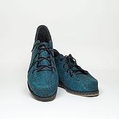 """Обувь ручной работы. Ярмарка Мастеров - ручная работа Валяные туфли """"Сверхновая"""". Handmade."""