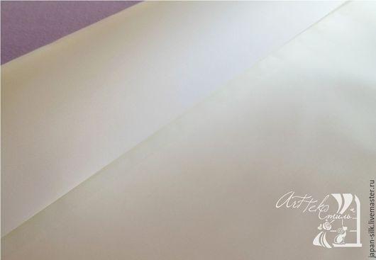 Ткань для цветов ручной работы. Ярмарка Мастеров - ручная работа. Купить Нью бенсатен. Handmade. Белый, материалы для флористики, сатин