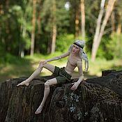 Куклы и пупсы ручной работы. Ярмарка Мастеров - ручная работа Дэниэль. Бжд масштаб 1/12. Handmade.