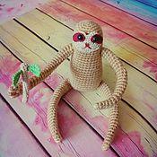 Куклы и игрушки ручной работы. Ярмарка Мастеров - ручная работа Ленивец амигуруми. Handmade.