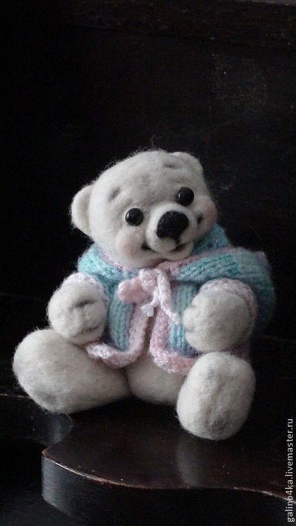 Мишки Тедди ручной работы. Ярмарка Мастеров - ручная работа. Купить Малышка. Handmade. Мишки, авторские мишки Тедди, Валяние