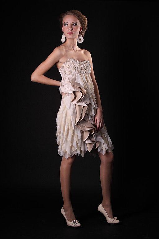 Платья ручной работы. Ярмарка Мастеров - ручная работа. Купить Платье. Handmade. Платье, платье для выпускного, Ацетат