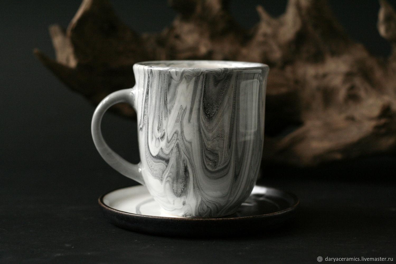 Сервизы, чайные пары ручной работы. Ярмарка Мастеров - ручная работа. Купить Керамическая чайная пара ручной работы. Handmade.