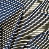 Материалы для творчества ручной работы. Ярмарка Мастеров - ручная работа Отрез ткани в полосу, шерсть. Handmade.