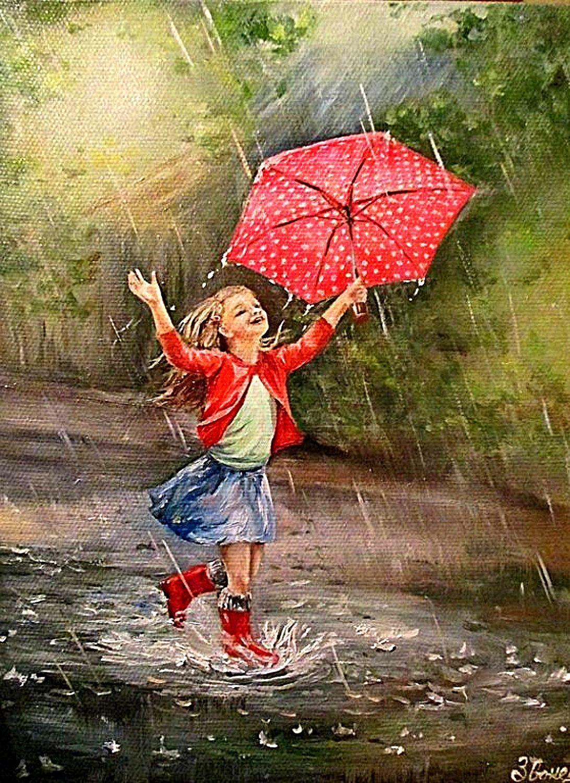 открытки гифки человек с зонтом для газовой
