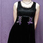 Одежда ручной работы. Ярмарка Мастеров - ручная работа Игривое платье. Handmade.