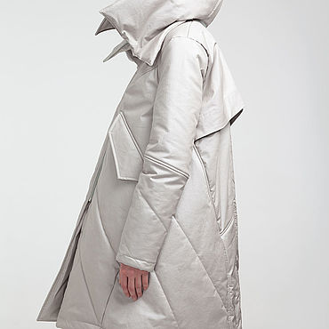 Одежда ручной работы. Ярмарка Мастеров - ручная работа Зимняя куртка-парка. Handmade.