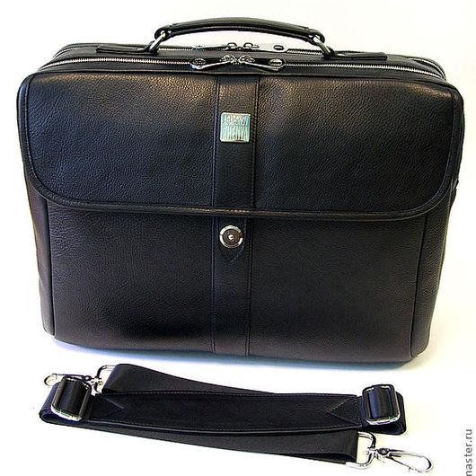 """Мужские сумки ручной работы. Ярмарка Мастеров - ручная работа. Купить Мужская деловая сумка """"Pascal-B"""". Handmade."""