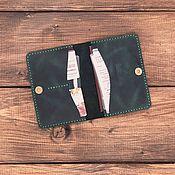 Сумки и аксессуары handmade. Livemaster - original item Documentsize genuine leather Doha. Handmade.