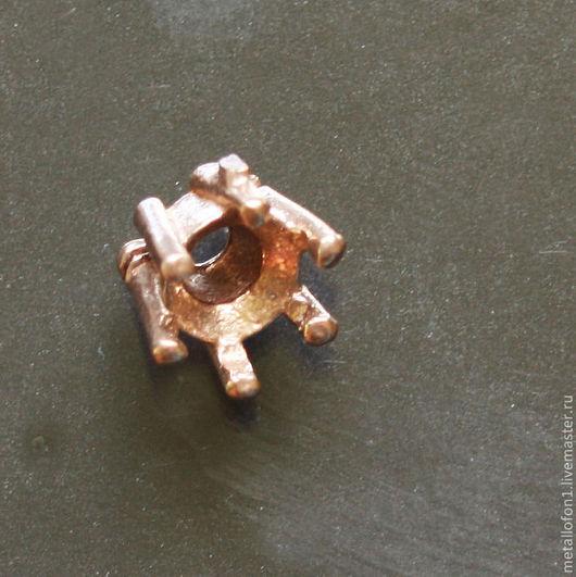 Для украшений ручной работы. Ярмарка Мастеров - ручная работа. Купить Каст крапановый для закрепки камня (10 шт). Handmade.