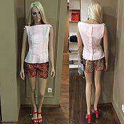 """Одежда handmade. Livemaster - original item Блузка """"Розовые Бантики"""". Handmade."""