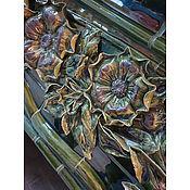 Для дома и интерьера handmade. Livemaster - original item Panel on the fireplace