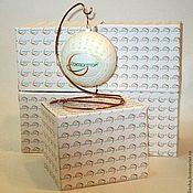 Подарки к праздникам ручной работы. Ярмарка Мастеров - ручная работа Корпоративное декорирование - новогодний елочный шар. Handmade.