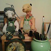 Куклы и игрушки ручной работы. Ярмарка Мастеров - ручная работа комбинезон для   тедди 4. Handmade.
