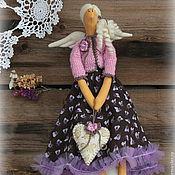 Куклы и игрушки ручной работы. Ярмарка Мастеров - ручная работа тильда-ангел счастья и любви Амина. Handmade.