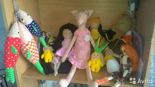 Игрушки животные, ручной работы. Ярмарка Мастеров - ручная работа. Купить Лисичка Тильда. Handmade. Разноцветный, лиса, тильда лиса