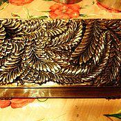 Для дома и интерьера ручной работы. Ярмарка Мастеров - ручная работа шкатулка с резьбой. Handmade.
