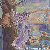Картины и панно ручной работы. Ярмарка Мастеров - ручная работа Мечты о Париже. Handmade.
