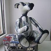 """Куклы и игрушки ручной работы. Ярмарка Мастеров - ручная работа мишка-тедди """"Paris, mon amour"""". Handmade."""