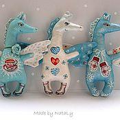 Куклы и игрушки ручной работы. Ярмарка Мастеров - ручная работа Ароматные лошадки  на коньках))). Handmade.